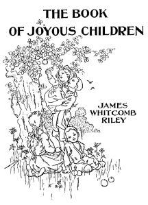 The Book of Joyous Children