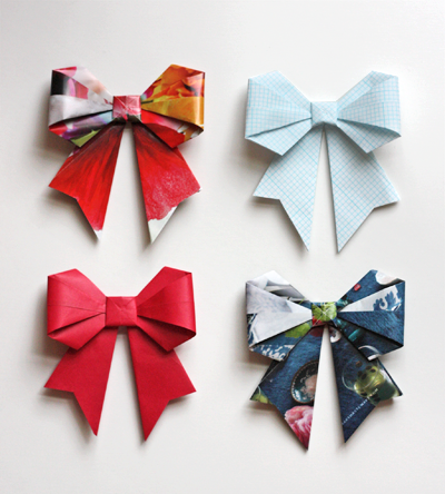 recycled-origami-bows