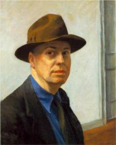 edward-hopper-Self-Portrait