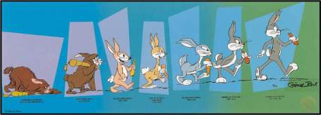 The Evolution of Bugs Bunny