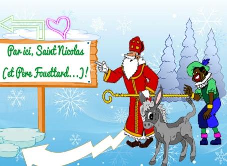 ST Nicolas et Pere Fouettard