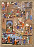 Complex palace scene, 1539–1543, Mir Sayyid Ali